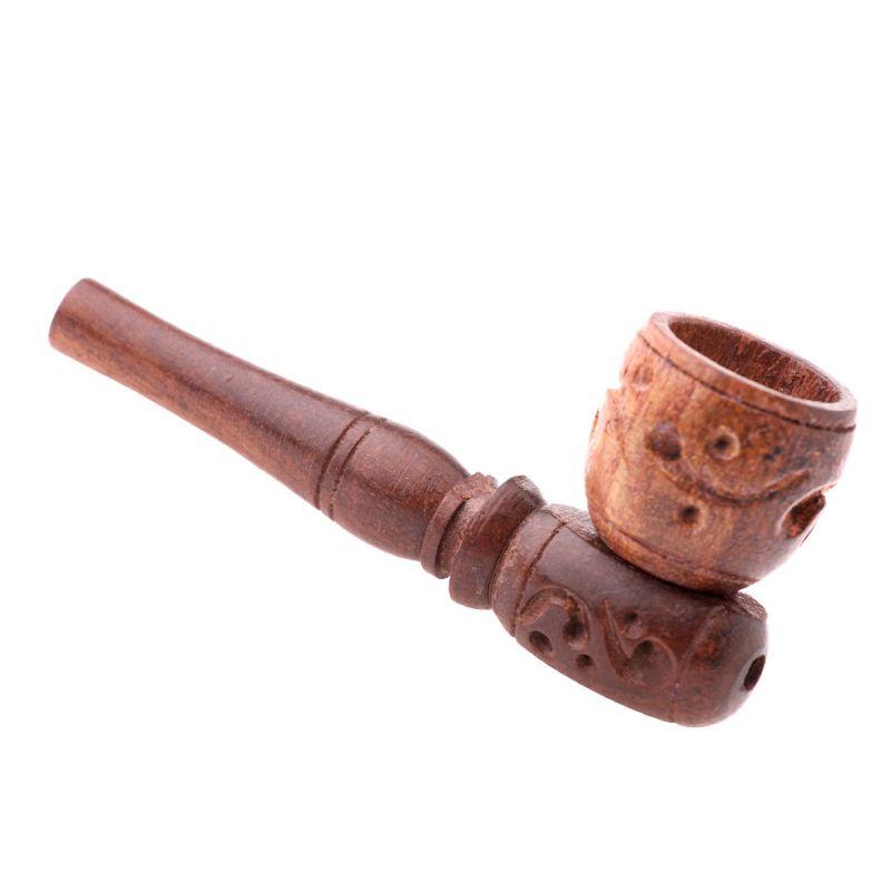 Dřevěná dýmka hnědá