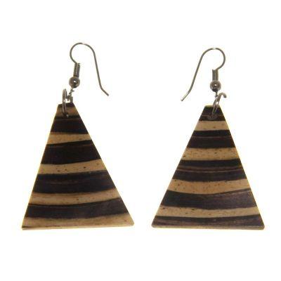 Náušnice Bambusové zvonky