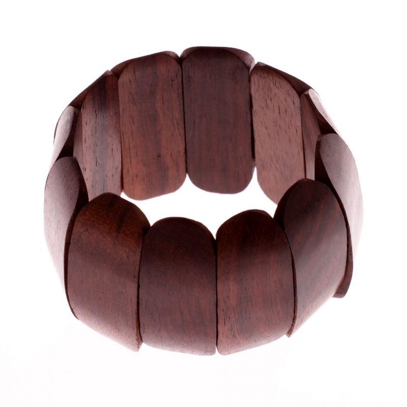 Dřevěný náramek Syal Permai