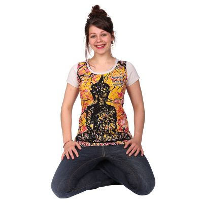 Dámské tričko Mirror s krátkým rukávem Buddha Beige