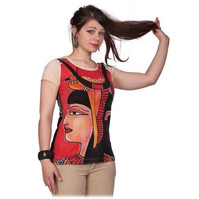 Dámské tričko Mirror s krátkým rukávem Cleopatra Beige