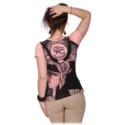 Dámské tričko Mirror s krátkým rukávem Cleopatra Pink