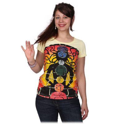 Dámské Tričko Meditation Yellow