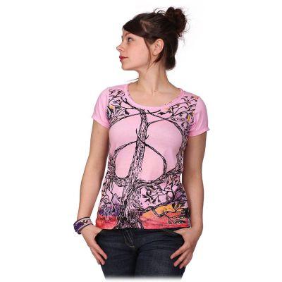 Dámské Tričko Tree of Peace Pink