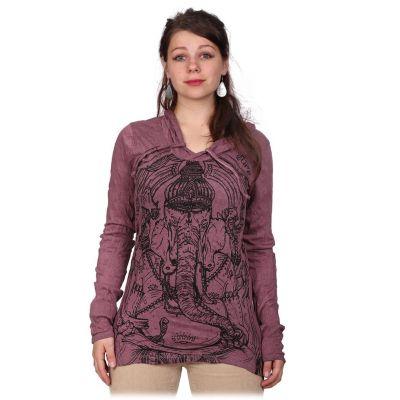 Dámské tričko Angry Ganesh Purple
