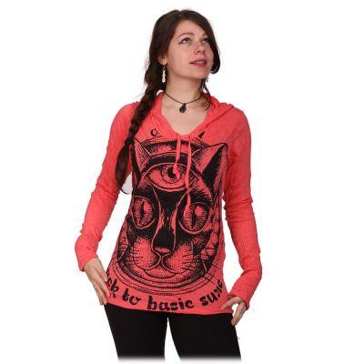 Dámské tričko Cat's Insight Pink