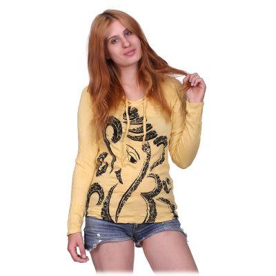 Dámské Tričko Elephant Yellow