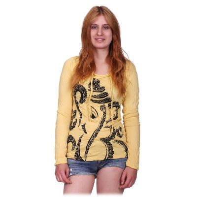 Dámské tričko Sure s kapucí Elephant Yellow