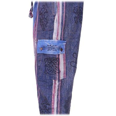 Pánské etno kalhoty Gambar Blue Nepal