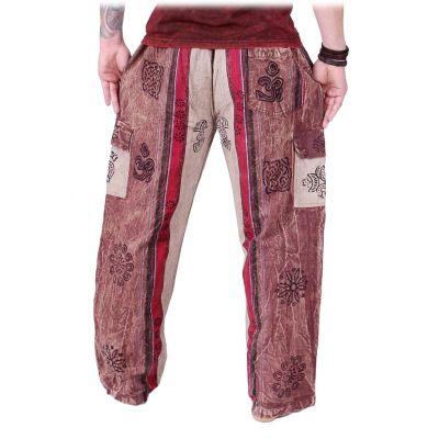 Pánské kalhoty Gambar Brown
