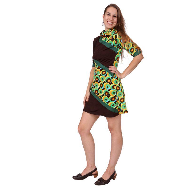 Jarní / podzimní šaty Matanya Hijau