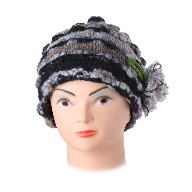 Vlněná čepice Indah Abu