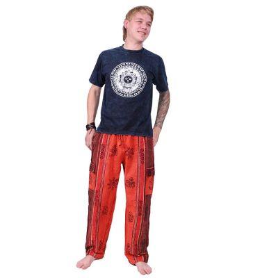 Kalhoty Gambar Red