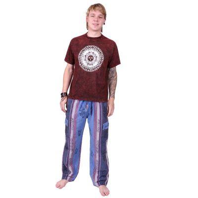 Kalhoty Gambar Blue