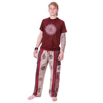 Kalhoty Gambar Brown