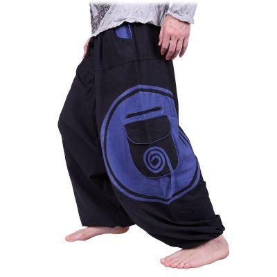 Kalhoty Bersulur Biru