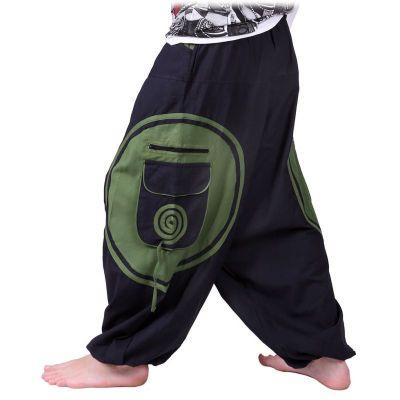 Kalhoty Bersulur Hijau