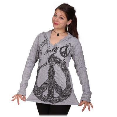 Dámské tričko Dove of Peace Grey