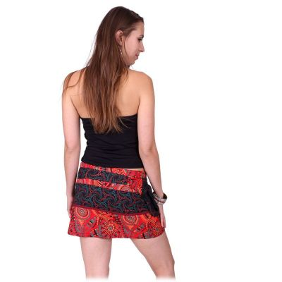 Zavinovací mini sukně se cvočky Tiang Api Nepal