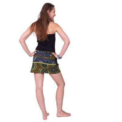 Zavinovací mini sukně se cvočky Tiang Rimba Nepal