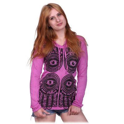 Dámské Tričko Hamsa Pink
