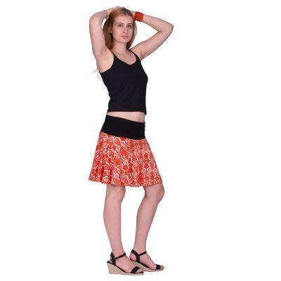 Kolová mini sukně Lutut Chariya Thailand