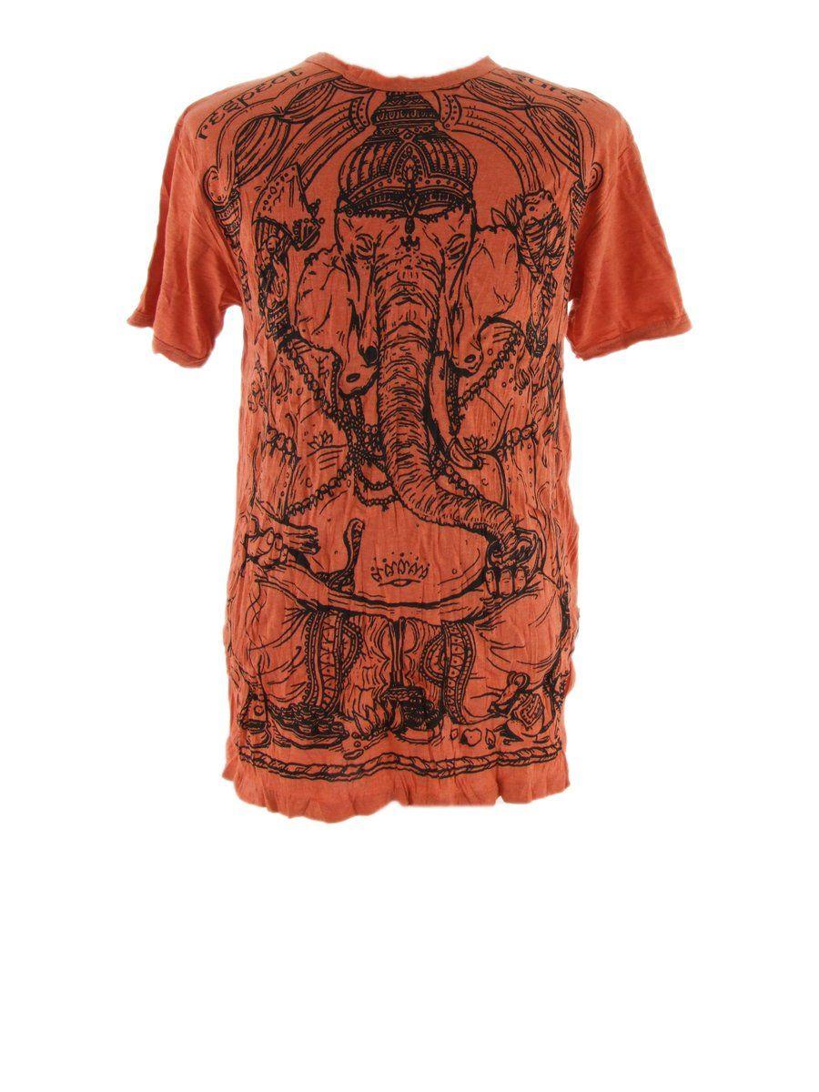 Pánské tričko Sure Angry Ganesh Orange