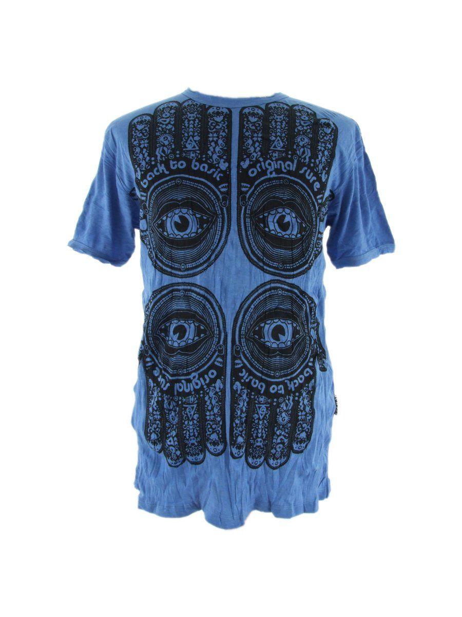 Pánské tričko Sure Hamsa Blue