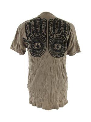 Pánské tričko Sure Hamsa Brown