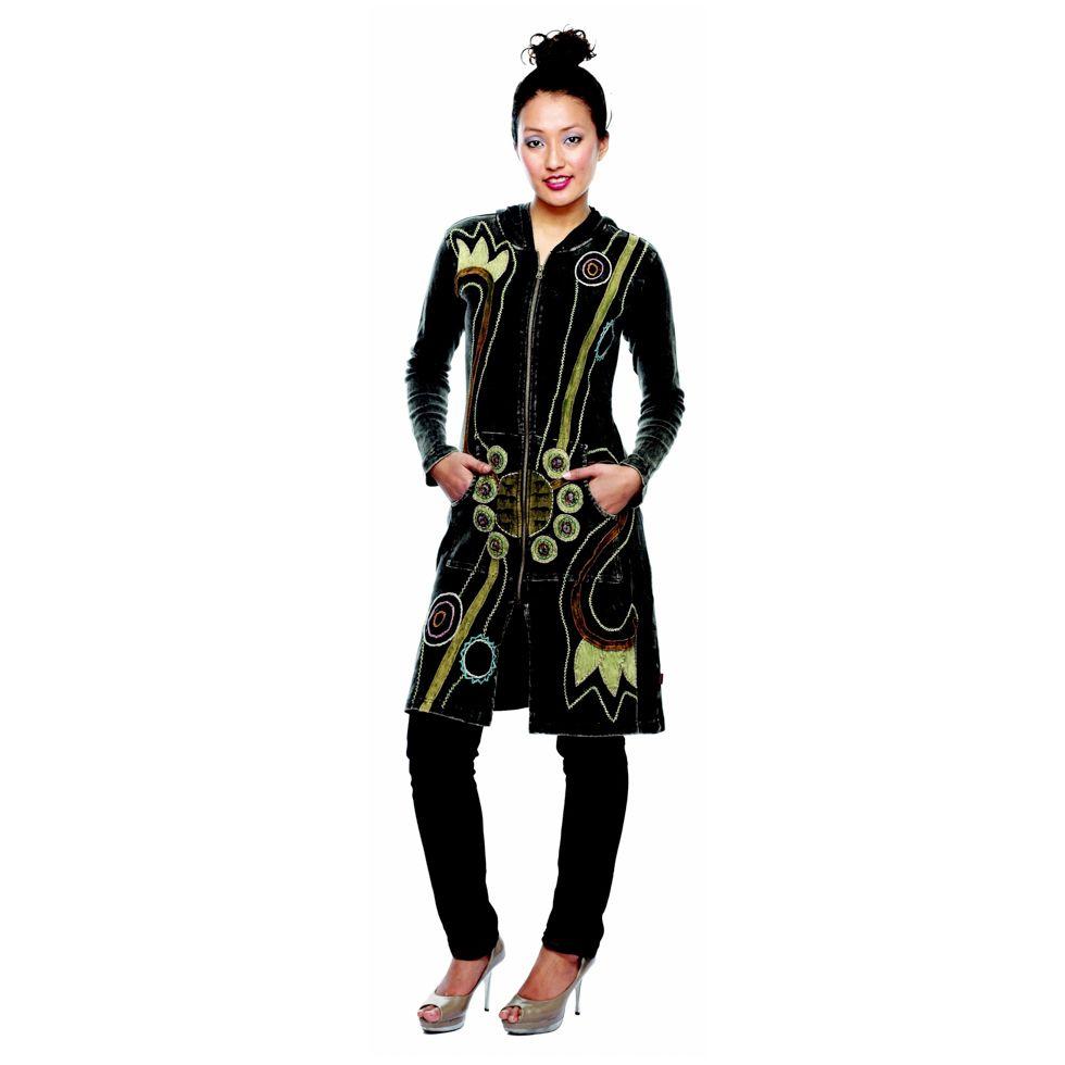 Kabátek Sadhika Hitam