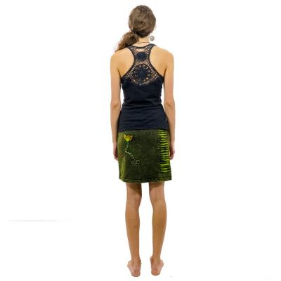 Etno mini sukně Jagatee Hijau Nepal