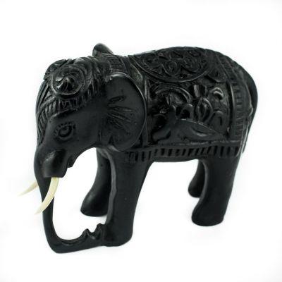 Soška Slon - zdobený
