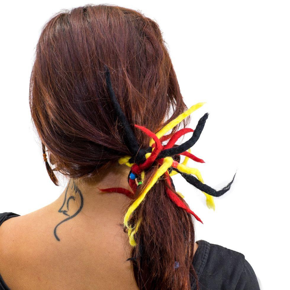 Dready Červená-žlutá-černá