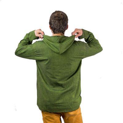 Kurta Ganet Hijau - pánská košile s dlouhým rukávem