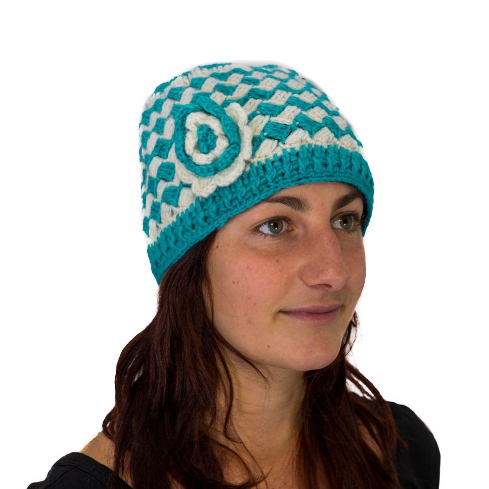 Vlněná čepice Drishti Langit