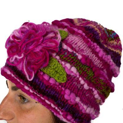 Vlněná čepice Indah Muda