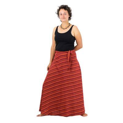 Dlouhá zavinovací sukně Vasanti Api
