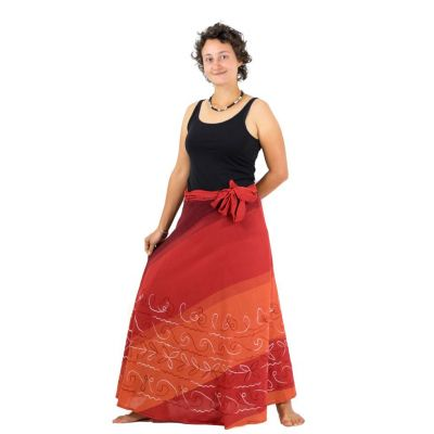 Dlouhá zavinovací sukně Vasanti Senja