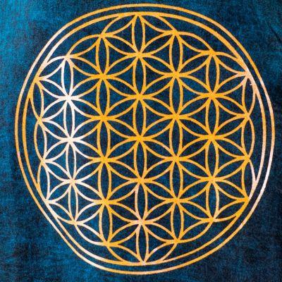 Dámské tílko Flower of Life Blue