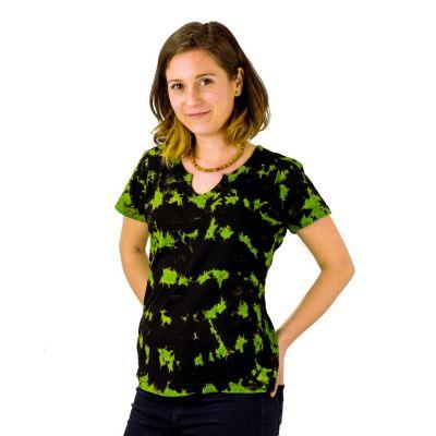 Dámské tričko s krátkým rukávem Benita Green