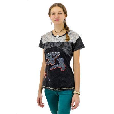 Dámské tričko Daya Hitam