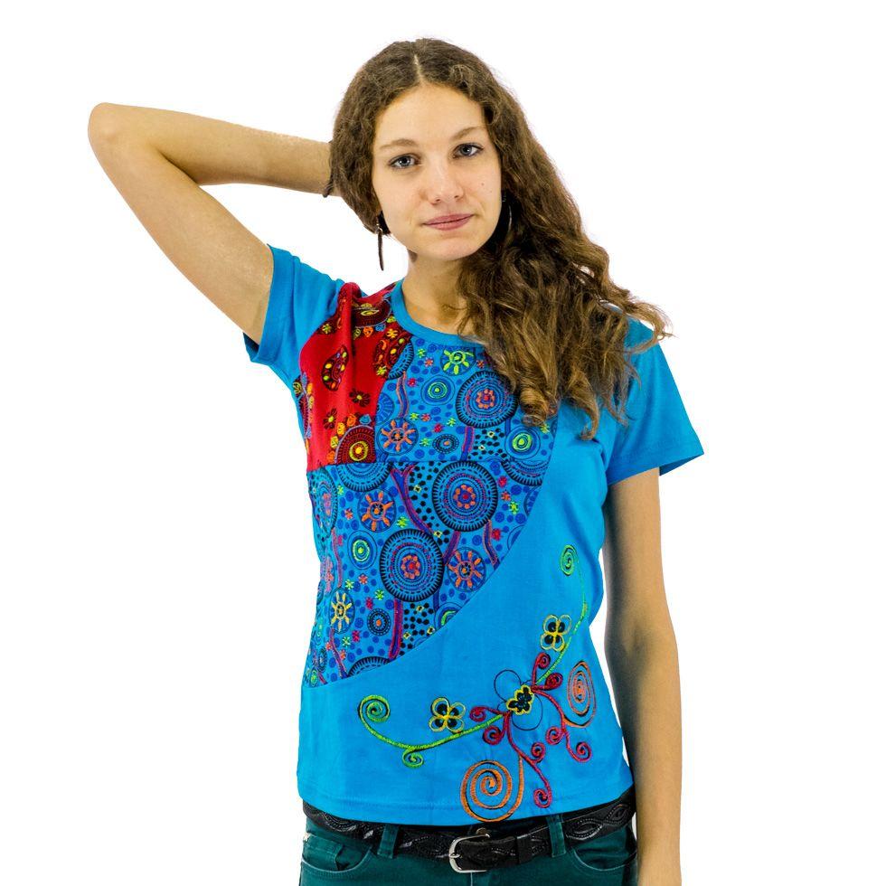 Dámské tričko s krátkým rukávem Nagarjun Samudra