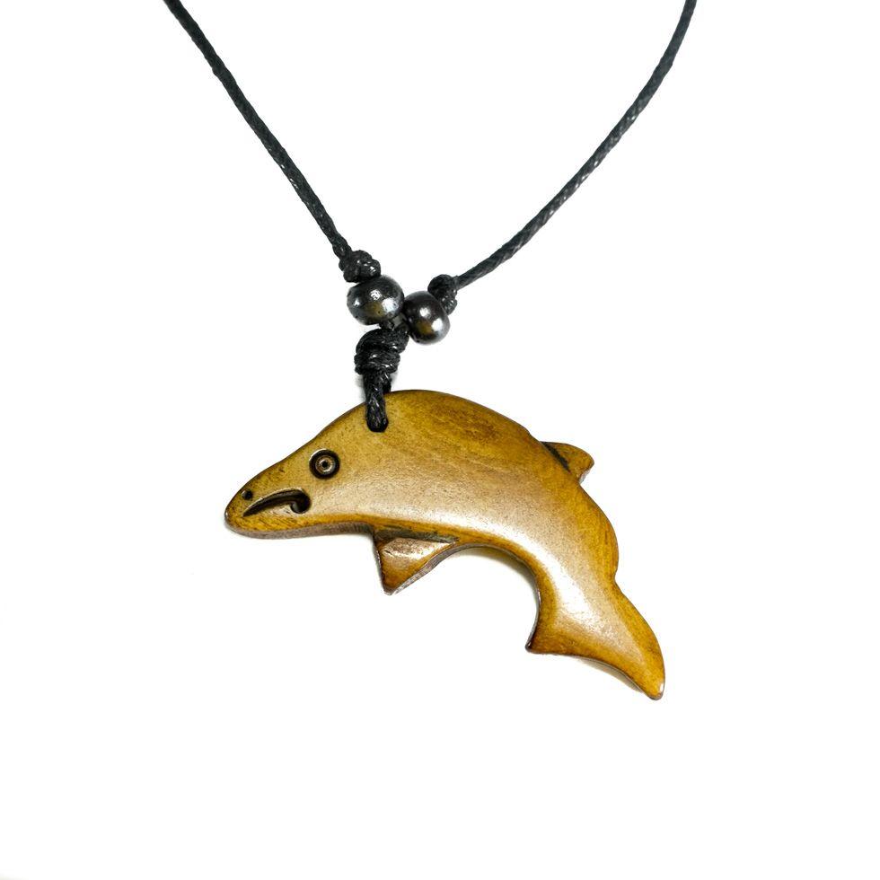 Kostěný přívěsek Delfín - jednoduchý