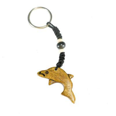Přívěsek na klíče Delfín