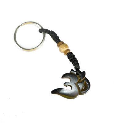 Přívěsek na klíče Om Nyata - tmavý