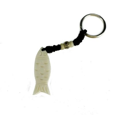 Přívěsek na klíče Ryba bez obrysu