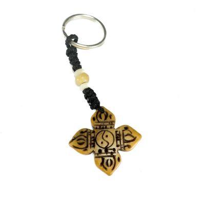 Přívěsek na klíče Zkřížené dordže