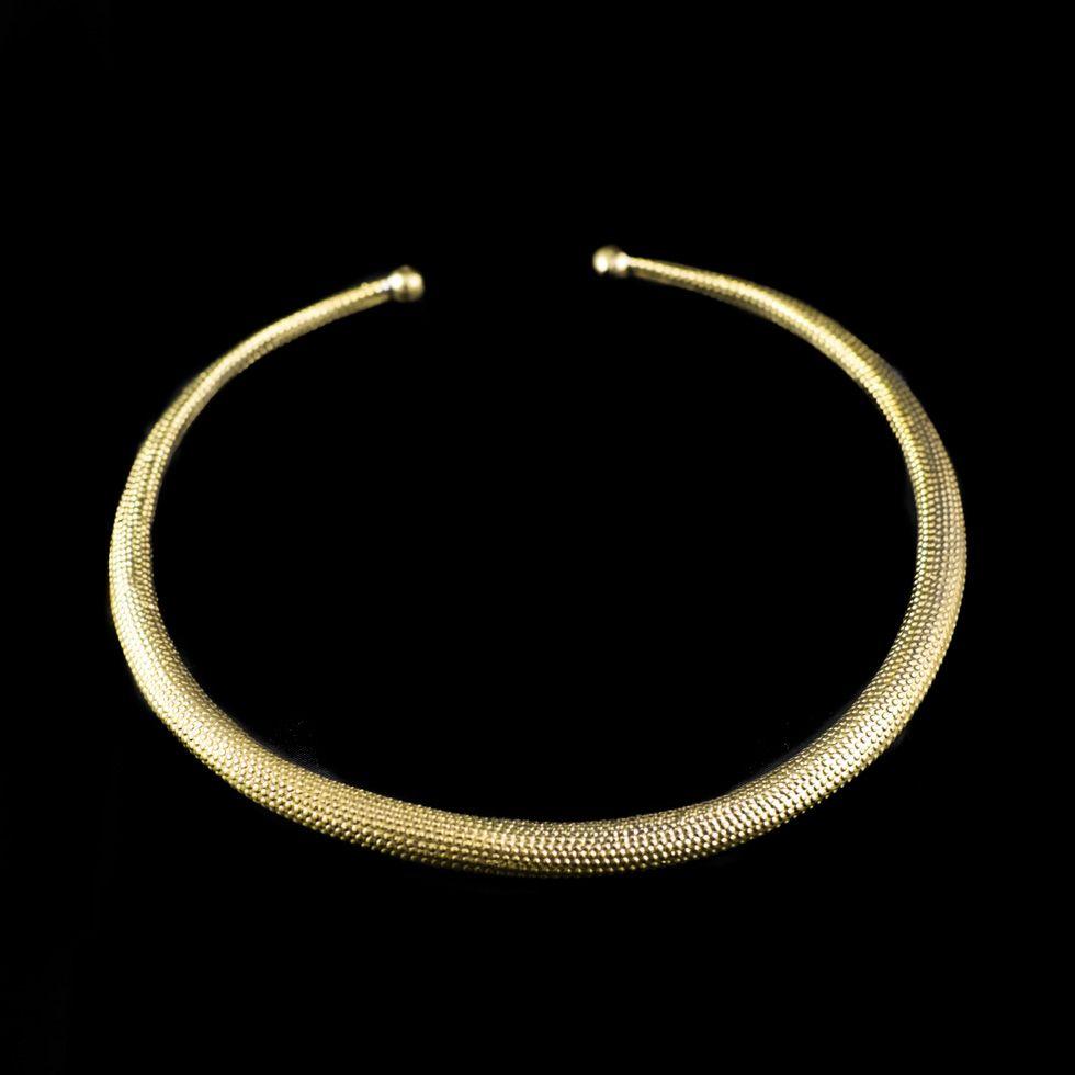 Mosazný náhrdelník Kleopatra