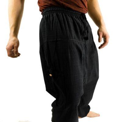 Pánské kalhoty se sníženým sedem Jatan Hitam