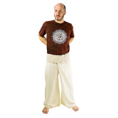 Kalhoty Fisherman's Trousers - béžové